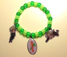 Hetalia Glow-In-The-Dark Bracelet by ShishoDesigns