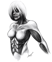 Female Titan by StalkerNitro