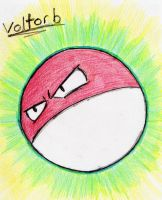 100 - Voltorb by JacobMace