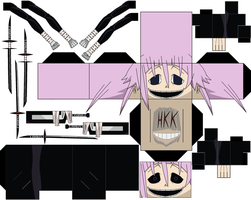 Crona Kishin Asura absorbed by hollowkingking