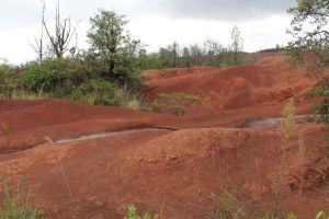 Red dirt of Kauai by TheLastLutherian