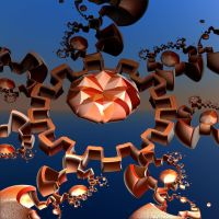brown mechanical rounding by Andrea1981G