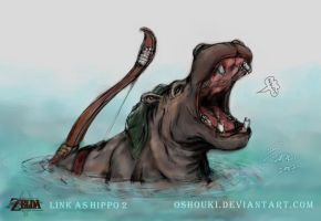 Link as Hippo 2 -contest entry by Oshouki