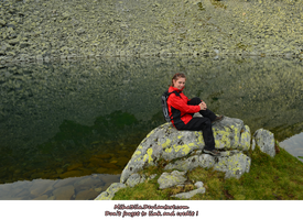 mountain tracker by the lake by Miha3lla