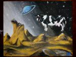 Space Cow by GraphiteEnigma