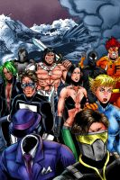 Deviant Universe: Pro Thunder Force by joeyjarin