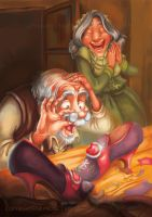 The Elves and the Shoemaker 2014 3 by RosieVangelova