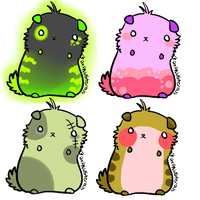 Hamster adoptables(open) by PrePAWSterous