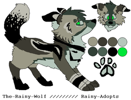 Canine Adopt -SOLD- by Rainy-Adopts