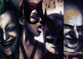 Batman Series by gavwoodhouse
