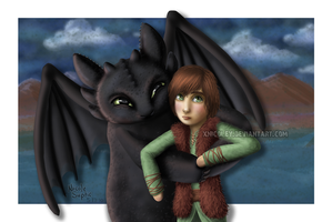 An Embarrassed Hiccup by xnicoley