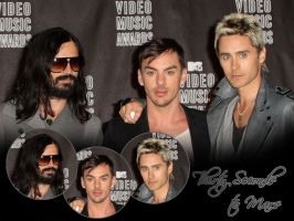 30 Seconds to Mars Wall 243 by martiansoldier