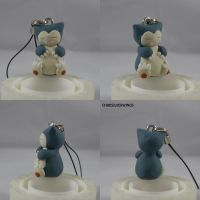 Snorlax Charm New by ChibiSilverWings