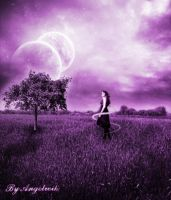 purple dream scene by angelwi by Realm-of-Fantasy