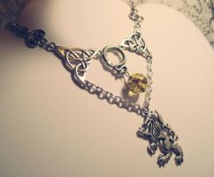 Son's of Loki necklace (New design) by Destinyfall