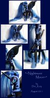 Custom Nightmare Moon by DeeKary