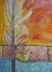 WLS: Autumn Back Yard by Uglymuffintop