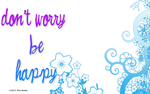 don't worry be happy by Aminebjd