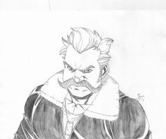 Moustache McGloin-Mystic Detective by Mulv