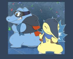 PMD2 Tony and Ale by Glassesgator by Shaprite91