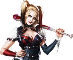 Batman Arkham Knight- Harley Quinn Render-1 by RajivCR7