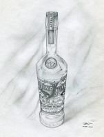Bottle W.I.P. 2 by RobtheDoodler