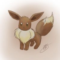 The original Cutie ~eevee by NAD-LifeOfficial