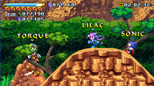 Freedom Planet Battle Coop by VictiniRUS