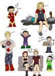 avengers pajamas by foxyjoy