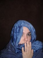 blue cloaked2 by honey-stock
