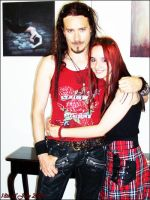Me and Tuomas Holopainen by Fantasia-Art