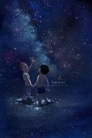 We are in space, brother by jen-and-kris