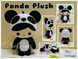 Panda Plush by SongAhIn