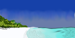 Yes another white sand beach by chewyredhots