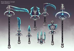 Ancient Weapons Concept by slipled