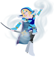 DOTA 2 Crystal Maiden by water-wing