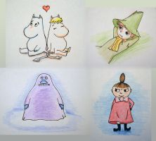Moomins compilation by LeXandra666