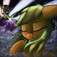Apple Night To Get Lucky by ImpCJCaesar