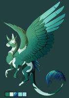 Ellis quick ref: Peacock Dragon by Cookiehalo