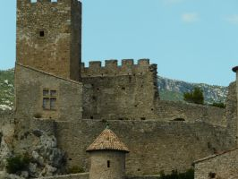 Castle 10 by YsaeddaStock