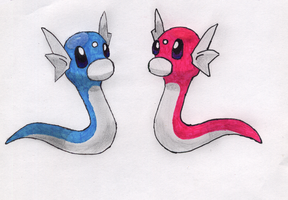 Dratinis for ShinyDratini by JanekKazio