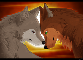 Serenity and Brody by Aliuh
