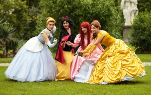 Disney Princesses by MarcoFiorilli