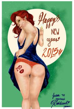 Happy Motherfuckin' Year by mousetown