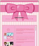 PinkBow Journal Template by 6oo