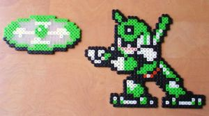Perler Gyroman by NES--still-the-best