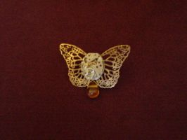 Butterfly pin by Illuminette