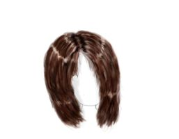 My fourth hair drawing by Lizzimoa