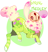 {Lucky Chimes} Spring Medley [closed] by burrdog