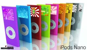 Archigraphs ipod Nano Icons by Cyberella74